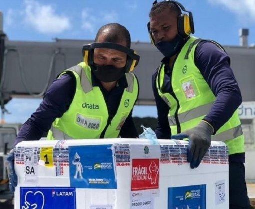 Bahia recebe 160 mil doses de vacina da Pfizer | Bahia em tempo real