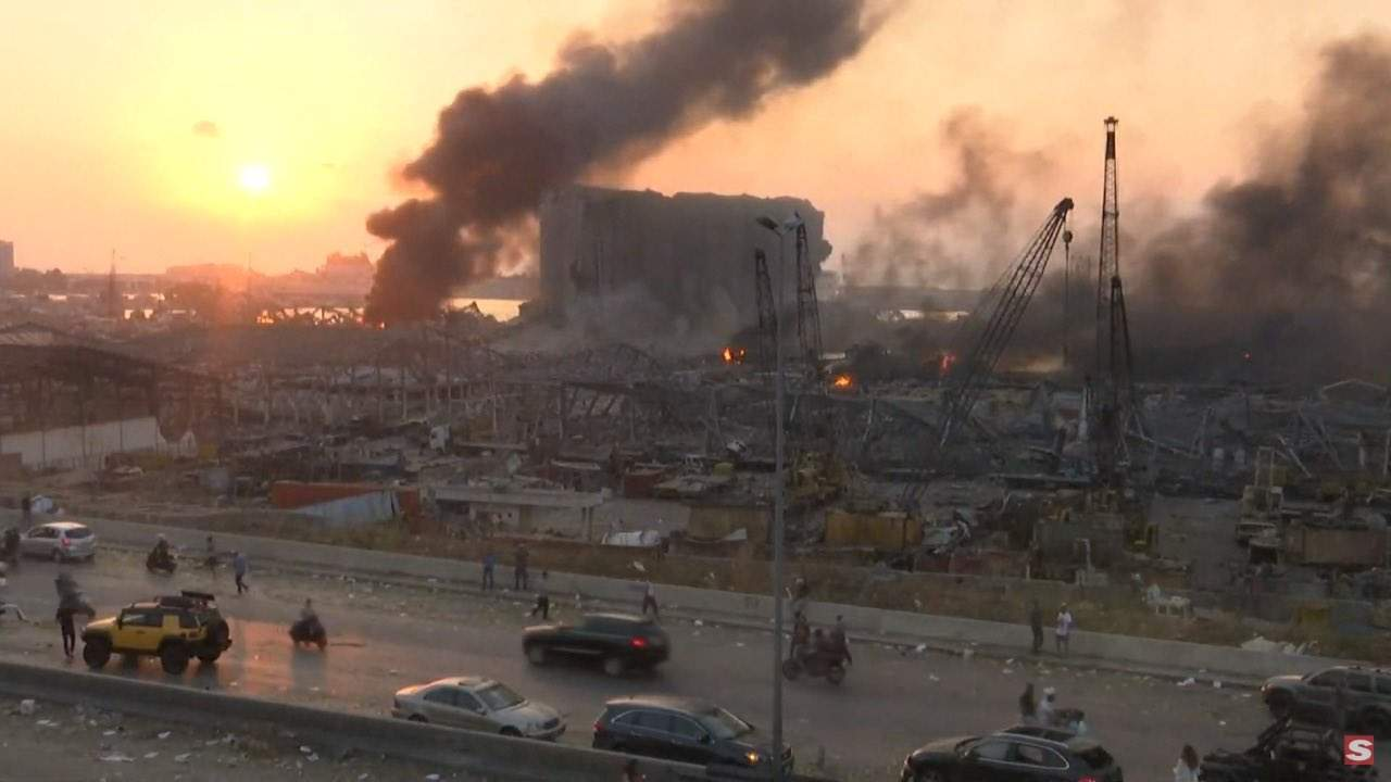 Grande explosão na região portuária de Beirute deixa ao menos 10 mortos | Bahia em tempo real