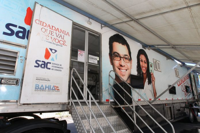 Unidades do SAC M�vel alteram hor�rio de atendimento em shoppings de Salvador   Bahia tempo real