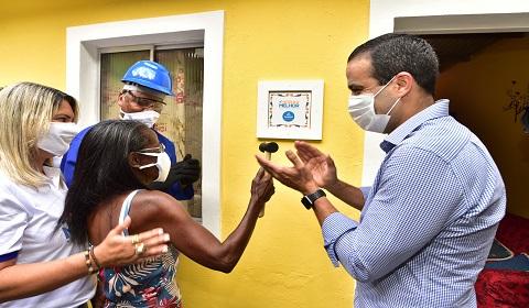 Morar Melhor reforma 200 casas no Alto do Cabrito   Bahia em tempo real