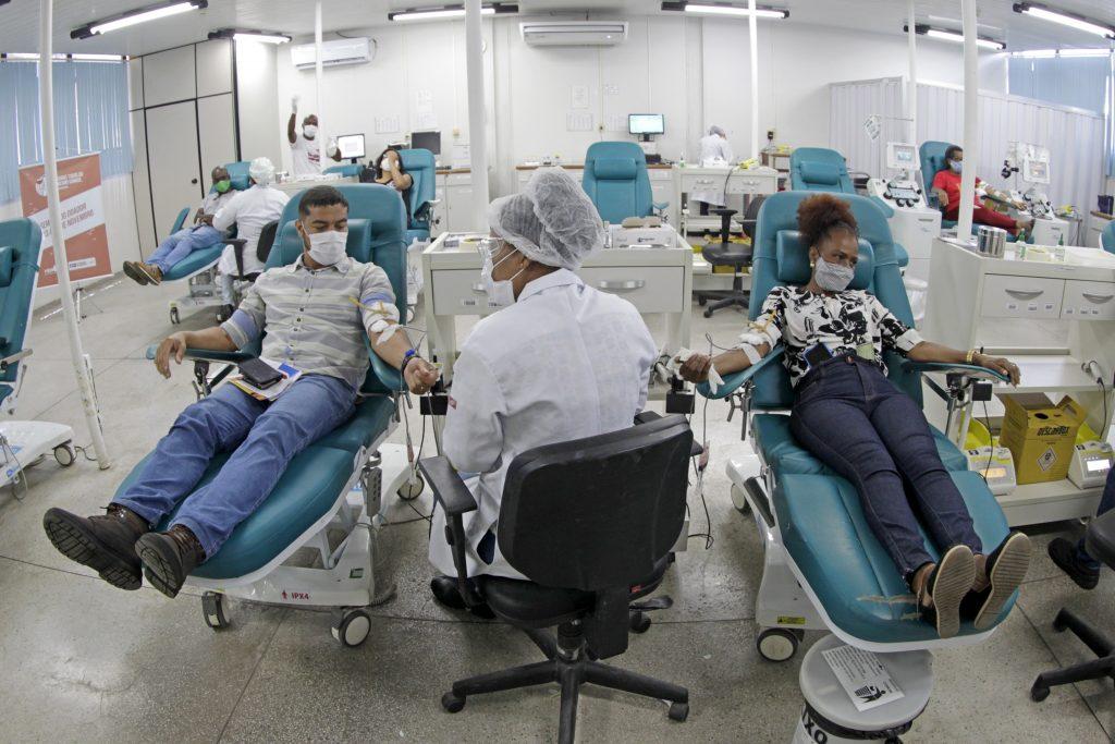 Bahia recebeu mais de 56 mil novos doadores de sangue em 2020   Bahia tempo real