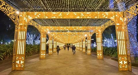 Ilumina��o natalina come�a a ser desmontada em Salvador | Bahia tempo real