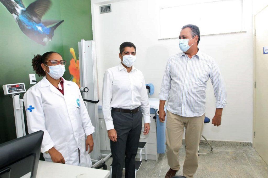 Estado entrega UBS e Academia da Sa�de em Piraj� | Bahia tempo real