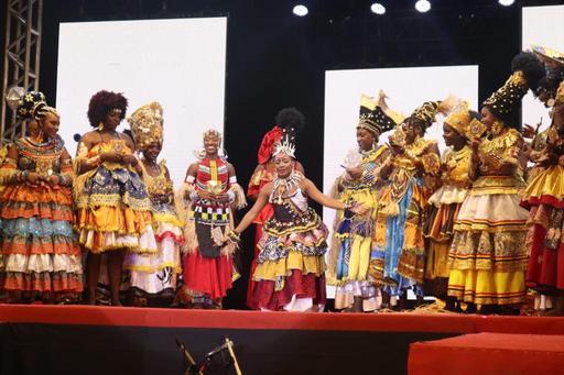 Noite da Beleza Negra escolhe a Deusa do Ébano do Bloco Afro Ilê Aiyê