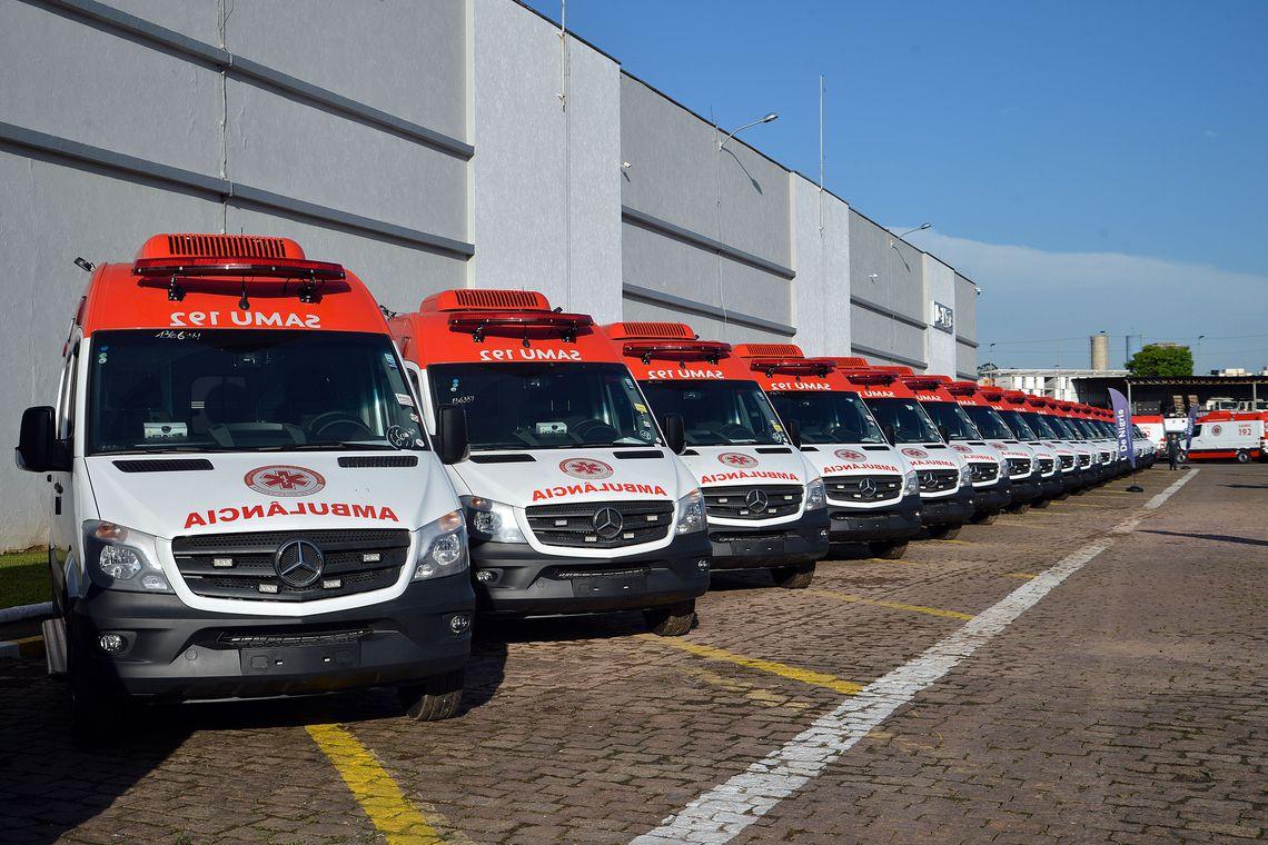 Mais de 860 ambulâncias novas vão reforçar Samu | Bahia em tempo real