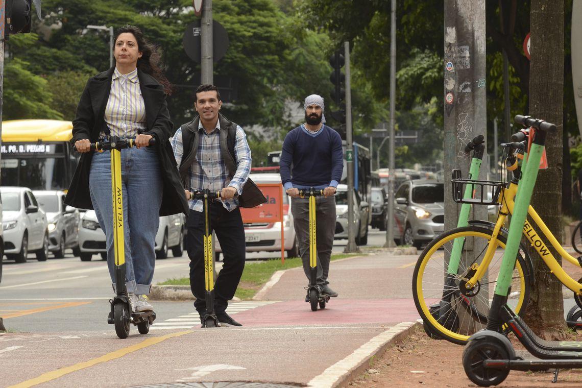 Prefeitura de SP vai impor regras para uso de patinetes el�tricos | Bahia tempo real