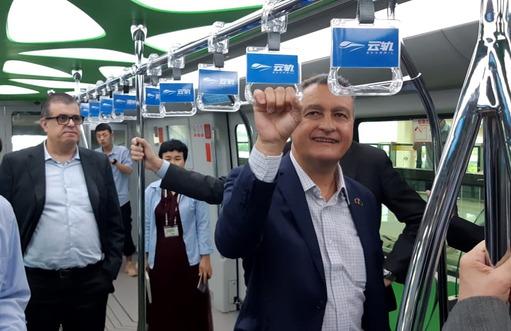 Na China, consórcio anuncia conclusão do projeto conceitual do VLT | Bahia em tempo real