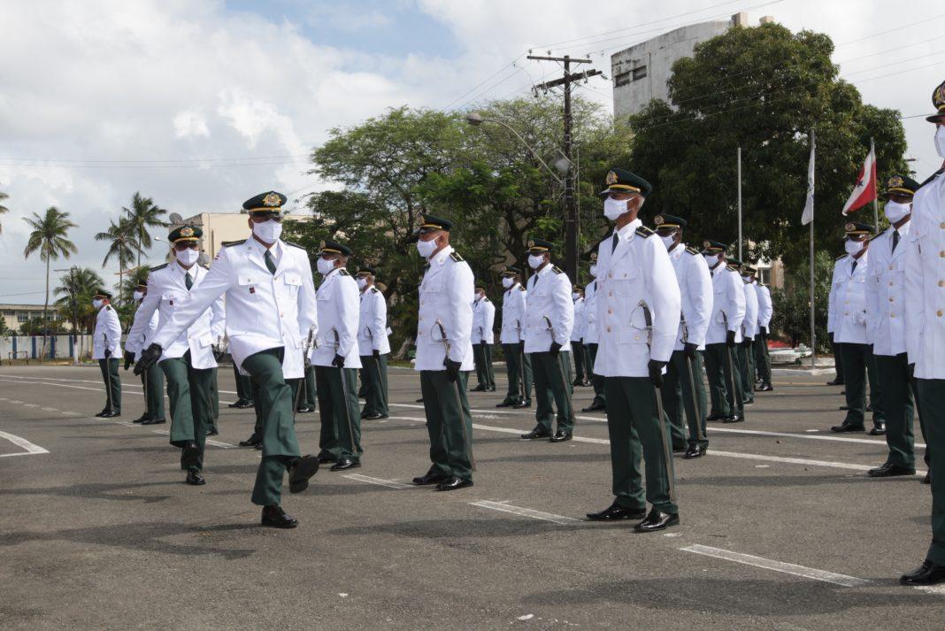PM forma primeira turma de tenentes auxiliares na Vila Militar dos Dendezeiros | Bahia em tempo real