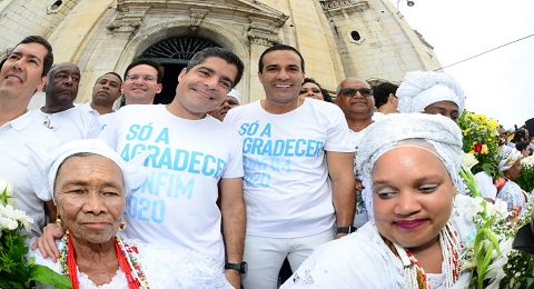 Que o Senhor do Bonfim cubra de graças e bênçãos o futuro de Salvador, diz Bruno Reis