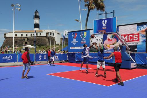 Arena de basquete e jogos eletrônicos promovem Jogos Universitários em Salvador