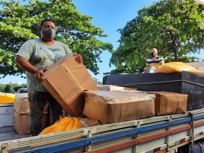 Governo do Estado entrega mais de 532 mil máscaras para 223 municípios | Bahia em tempo real