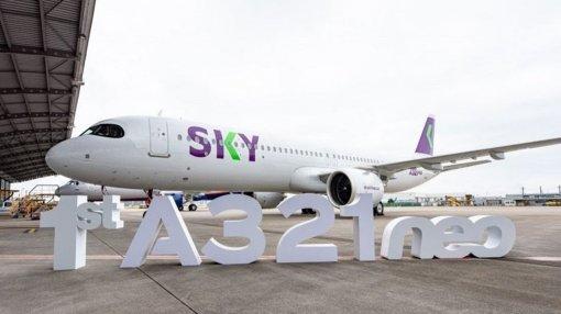 Sky Airline recebe seu primeiro A321neo | Bahia em tempo real