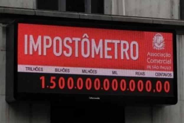 Impostômetro atinge a marca de R$ 1,5 trilhão | Bahia tempo real