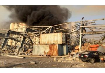 Número de mortos por explosão em Beirute sobe para mais de 50