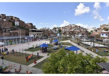 Nova praça proporciona mais qualidade de vida à Saramandaia
