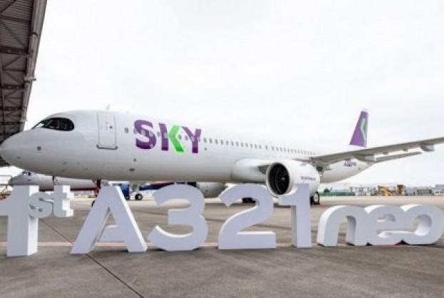 Sky Airline recebe seu primeiro A321neo | Bahia tempo real